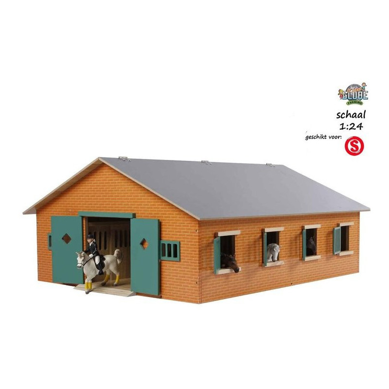 Large horse stable 1:24