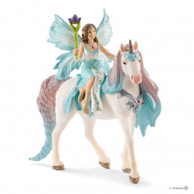 Schleich 70569 Fairy Eyela with princess unicorn