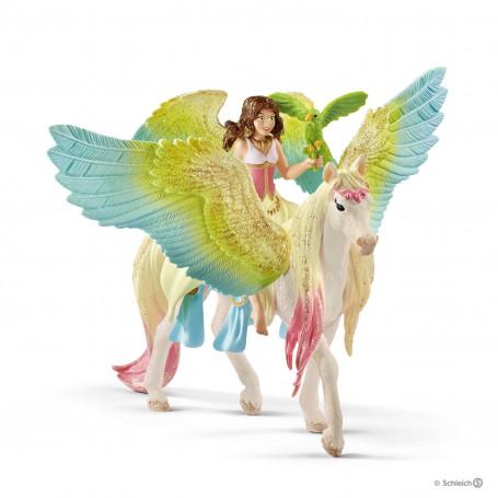 Schleich 70566 Surah met Glitter Pegasus