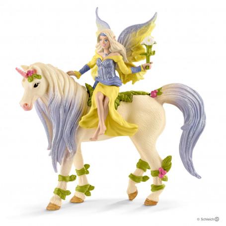 Schleich 70565 Fairy Sera with blossom unicorn