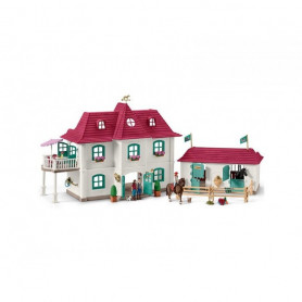 Schleich 42416 Large horse stable with house and stable