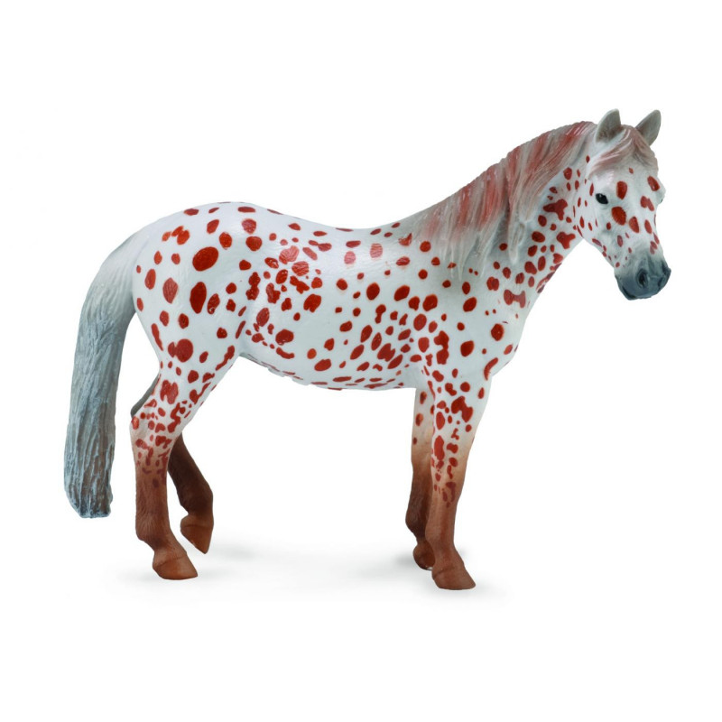 Collecta 88750 Bruin gevlekte pony merrie