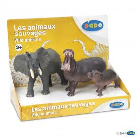 Papo 80001 Wilde dieren set ( 3 stuks )